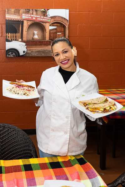 PMG PHOTO: CHRISTOPHER OERTELL - Chef and owner at The Antojitos House in Hillsboro, Zulmi De La Cruz, wanted to start her own business after living in town for more than 20 years.