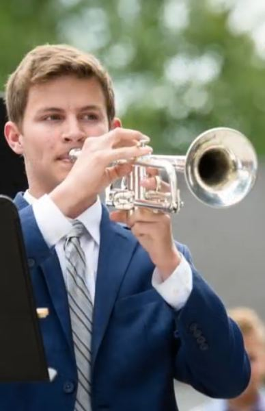 COURTESY PHOTO: MT. HOOD POPS ORCHESTRA - Trumpeter Josh Friesen, a junior at Clackamas High School, will perform Bride of the Waves by Herbert L. Clarke with the Mt. Hood Pops Orchestra.