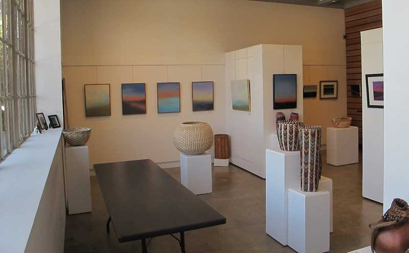 "According to the MAC website: Multnomah Arts Center Gallery has approximately 200 linear feet with beautiful white display walls and ""floating"" walls for versatile art displays. As an educational instrument for our community, the MAC Gallery has been open since 1982 and has had over 300 shows."