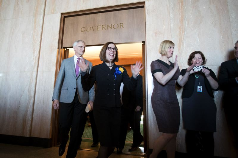 PMG FILE PHOTO - Gov. Kate Brown said she still plans to work on gun violence bills this session.