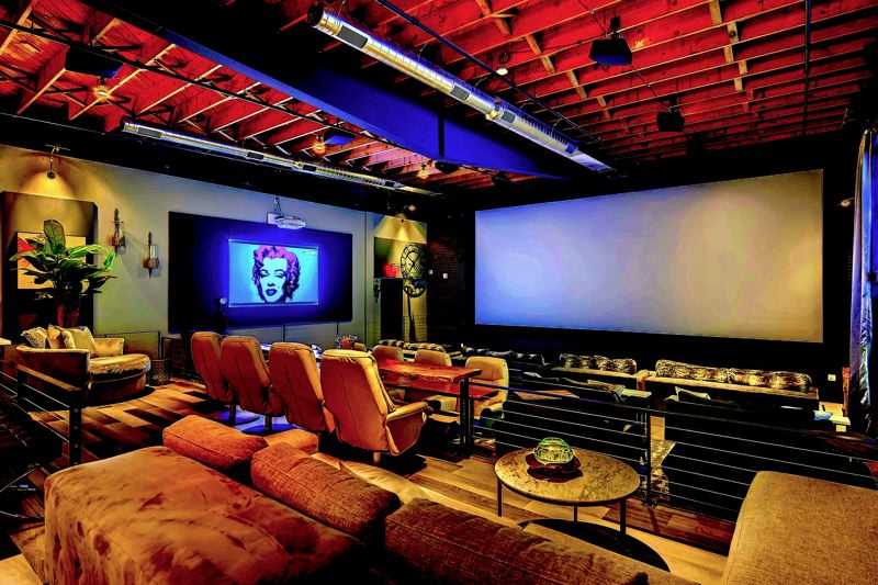 COURTESY: STUDIO ONE THEATERS - A library penthouse experience at Studio One, from the founder of Cinetopia, which was just absorbed by AMC chain this week.