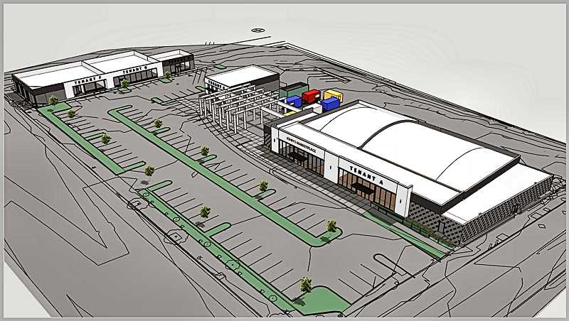 COURTESY OF DEVELOPMENT CO. OF THE WEST - Heres an overhead view of the proposed malls plan, provided by the developer.