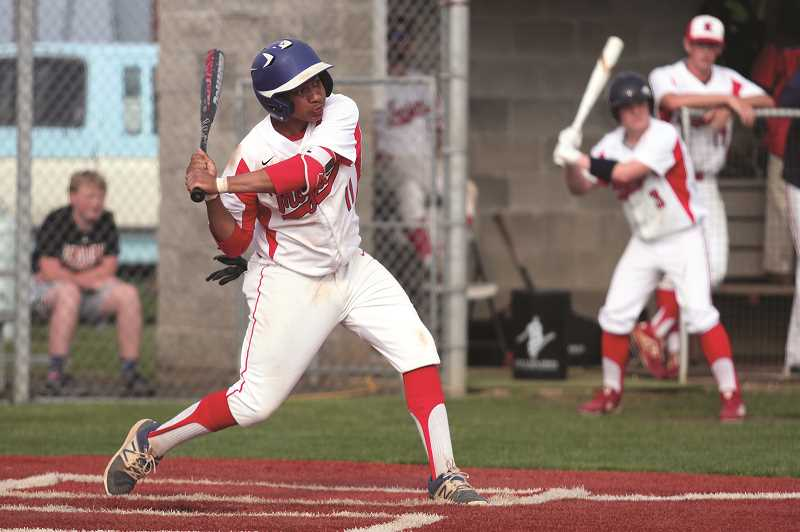 PMG PHOTO: PHIL HAWKINS - Marseille's sacrifice grounder in the third inning scored Kennedy's only run, giving the Trojans the victory despite going without a hit against North Douglas pitchers Colter Anderson and Brian Erickson.