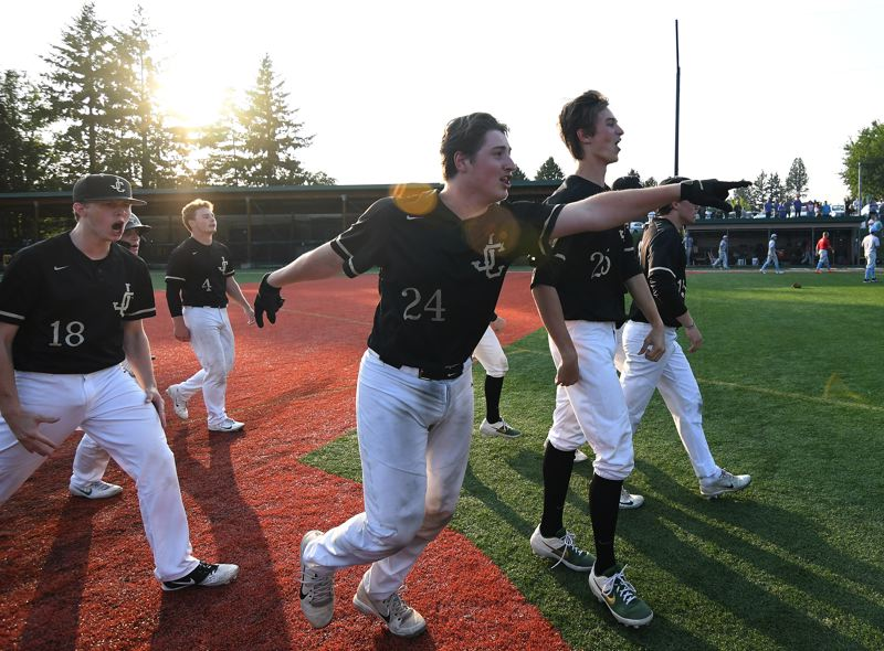 COURTESY PHOTO: BRIAN MURPHY - The Jesuit baseball team beat South Salem in extra innings in the Class 6A semifinals on May 28.