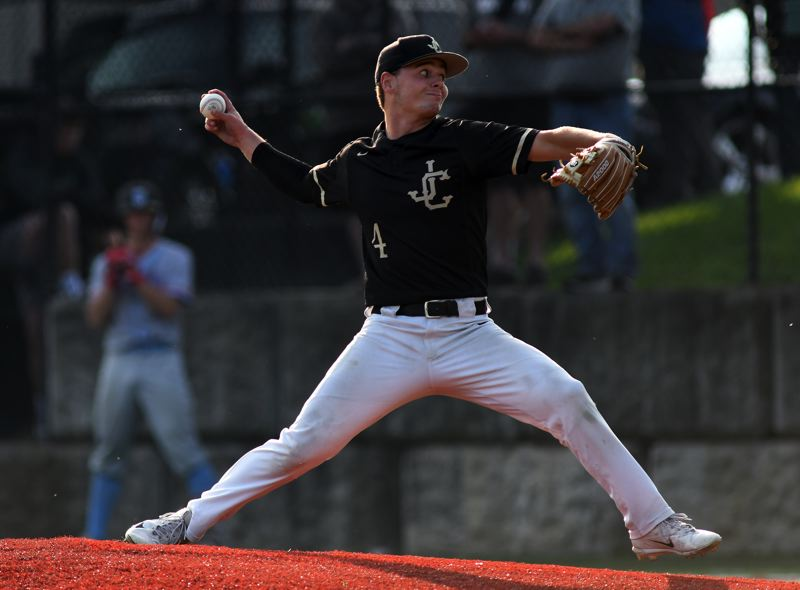 COURTESY PHOTO: BRIAN MURPHY - Jesuit senior Josh Daul shut down South Salem in the sixth, seventh and eighth innings in the 6A semis.