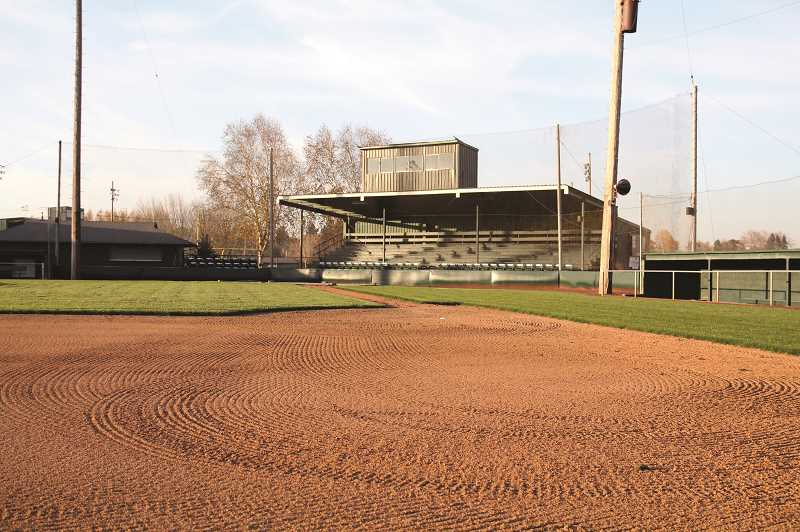 PMG FILE PHOTO: PHIL HAWKINS - Bob Brack Stadium at North Marion High School will be host to the 2019 Oregon 4A Baseball All-Star Series on June 15-16. The event features the top 4A seniors in the state, divided into North and South teams playing in a three-game series.