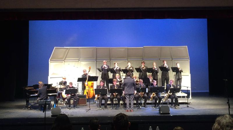 COURTESY PHOTO - Lakeridges jazz ensemble performs.