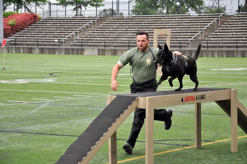 PMG PHOTO: CHRISTOPHER OERTELL - Police K-9's from across the area will take part in the 14th annual Washington County Sheriff's Office Police Canine Trials on Saturday, June 1.