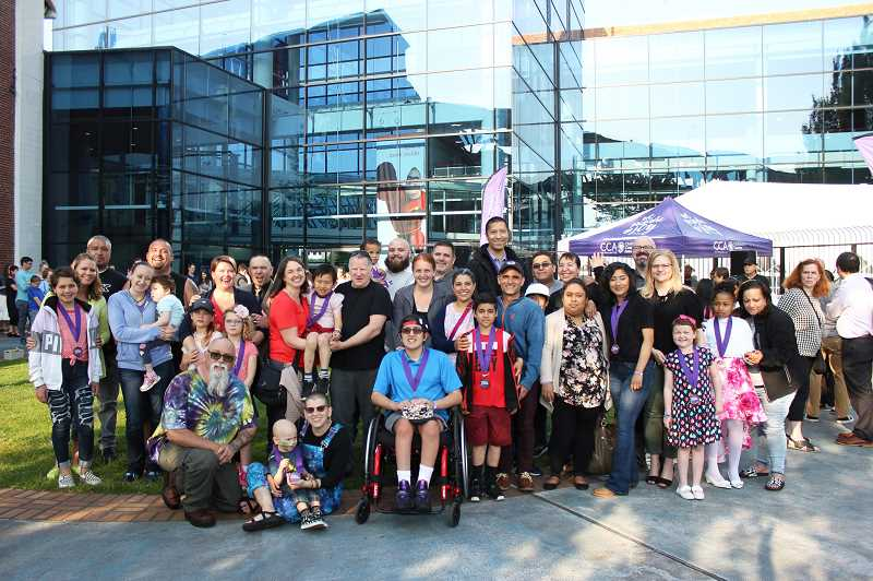 CHILDRENS CANCER ASSOCIATION - CCA Heroes and their families taken at the Celebration of Courage event held at OMSI on May 28.