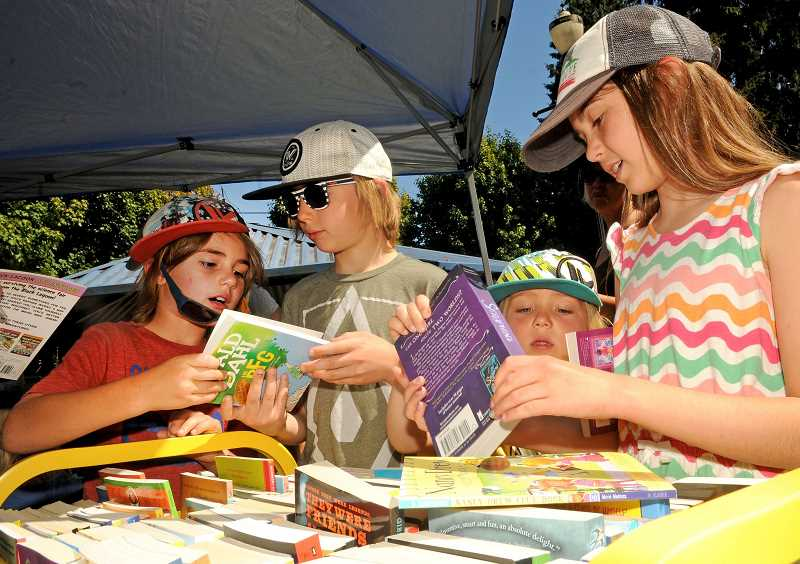 PMG FILE PHOTO - Lake Oswego's popular Summer Reading Program kicks off once again on Saturday.