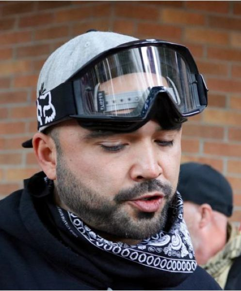 PMG FILE PHOTO - Patriot Prayer leader Joey Gibson