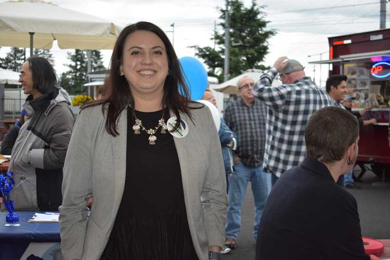 PMG PHOTO: TERESA CARSON - Courtney Helstein was the only East County Rising candidate not to be elected, after a narrow defeat to Diane Noriega for the MHCC board.