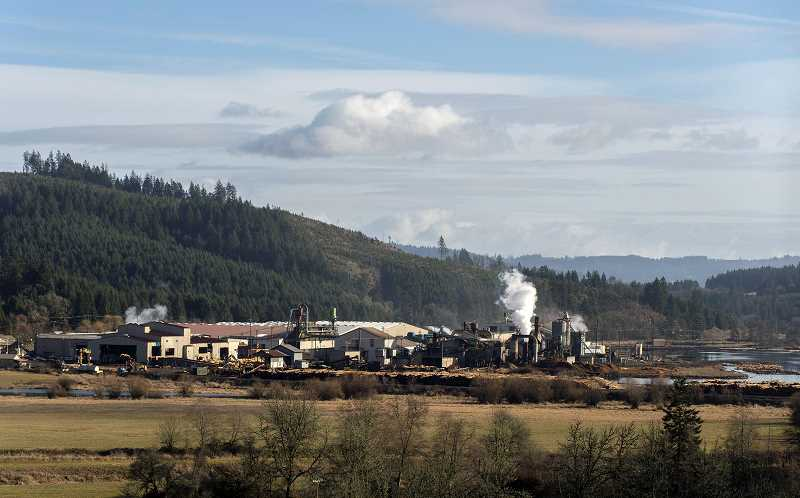 PMG FILE PHOTO - Stimson Lumber has operated a mill outside of Forest Grove since 1933. The company announced on Friday it would lay off about 40 percent of its Forest Grove workforce.