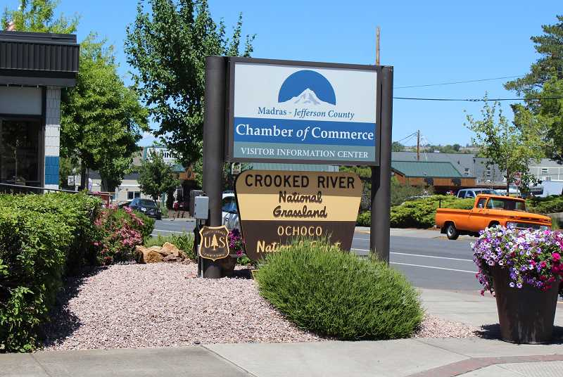 HOLLY M. GILL/MADRAS PIONEER - Firewood-cutting permits are now available at the Crooked River National Grassland office in the Madras-Jefferson County Chamber of Commerce.
