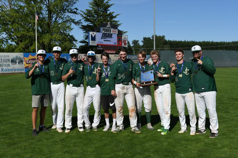 COURTESY PHOTO: BRIAN MURPHY - The seniors of the Jesuit baseball team had a huge hand in helping the Crusaders win the Class 6A state crown.