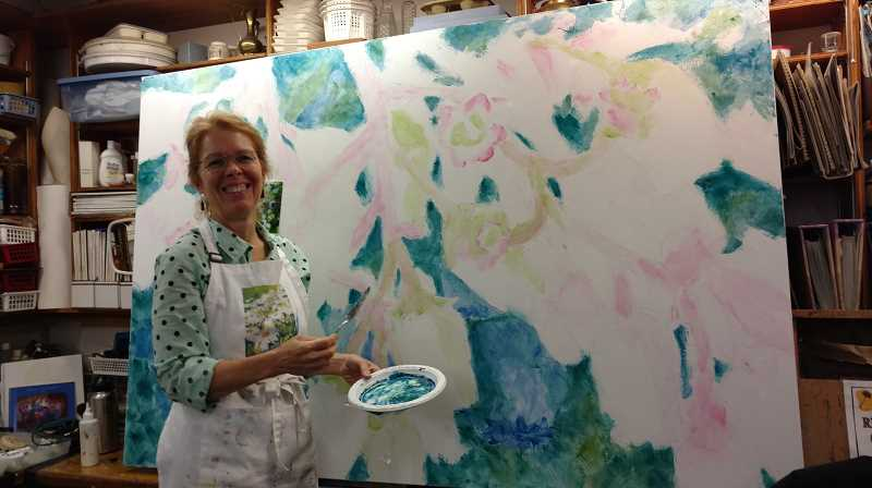 COURTESY PHOTO: SUSAN CURINGTON  - Local artist Susan Curington teaches at Valley Art in Forest Grove and has lived in the area almost her whole life. Her current series, 'As the Bee Sees' is on tour for the next year.