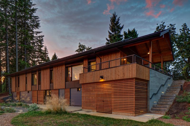 COURTESY:  SCOTT | EDWARDS ARCHITECTURE - The Pumpkin Ridge Passive House, designed by Scott | Edwards Architecture, is a DOE Zero Energy Ready Home that is Earth Advantage Platinum certified and a Northwest ENERGY STAR super-efficient demonstration home.