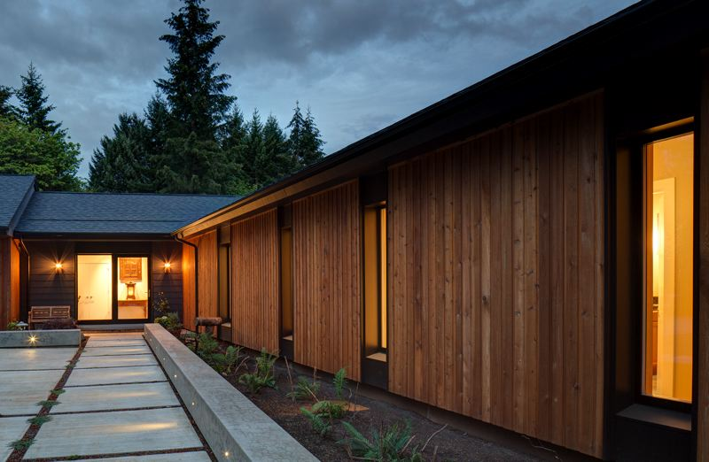 COURTESY:  SCOTT | EDWARDS ARCHITECTURE - The Pumpkin Ridge Passive House was the 2015 Housing Innovation Award Winner from the U.S. Department of Energy and the 2014 Best Mainstream Green Home of the Year from GreenBuilder Media.