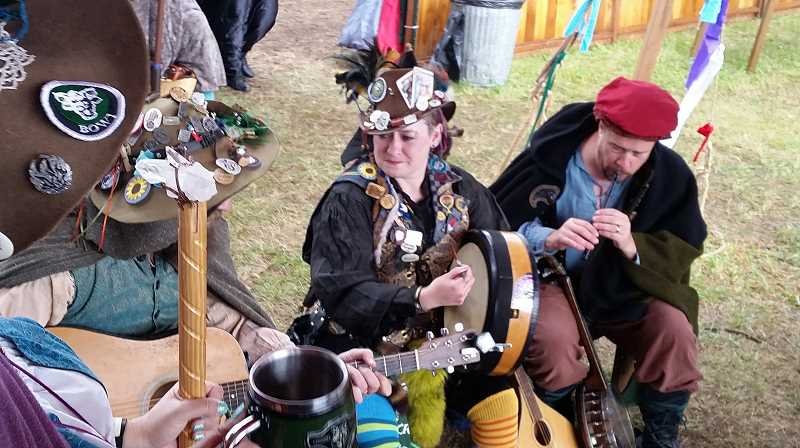 PMG FILE PHOTO: JOHN BAKER - Dozens of musicians, vendors, dancers and various entertainers will keep patrons busy throughout the two weekends of the Oregon Renaissance Faire.