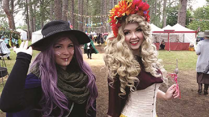 JOHN BAKER - There will be plenty of folks in constume during this year's Oregon Renaissance Faire.