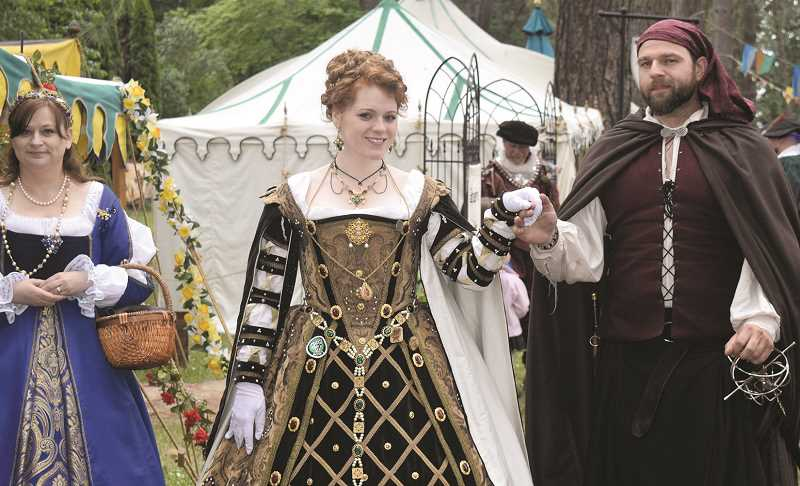 JOHN BAKER - Mary, Queen of Scots, will preside over the first weekend of the Oregon Renaissance Faire. Then, the faire gives itself over to the pirate life on June 15-16.