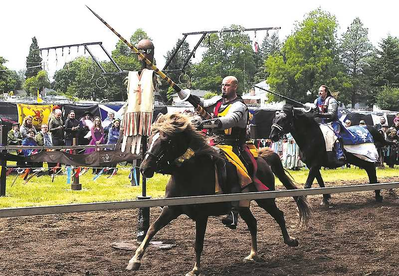 COURTESY PHOTO - The Oregon Renaissance Faire returns for its fourth act in Canby June 8-9 and 15-16.