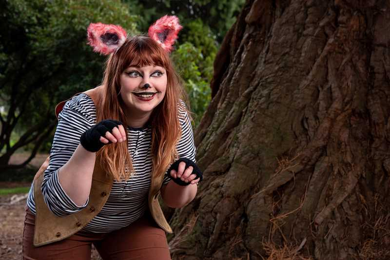COURTESY PHOTO: BAG&BAGGAGE PRODUCTIONS - 'The Helpful Little Fox' is a Bag&Baggage production at The Vault Theater, 350 E. Main St., Hillsboro, and written by the company's Emerging Artist, Olivia Anderson.