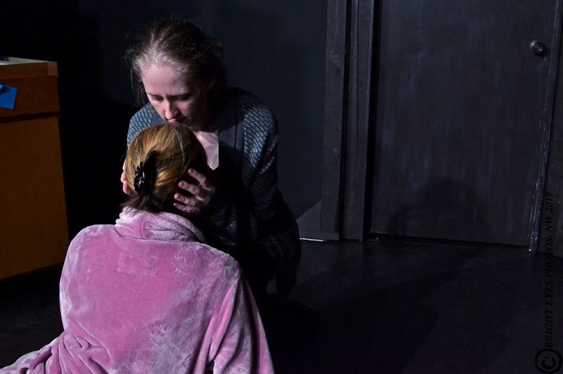 COURTESY PHOTO: BRIGHT EYES PHOTOS: NW - 'night, Mother' opened May 31 and runs through June 30 at Wolf Pack Theater.