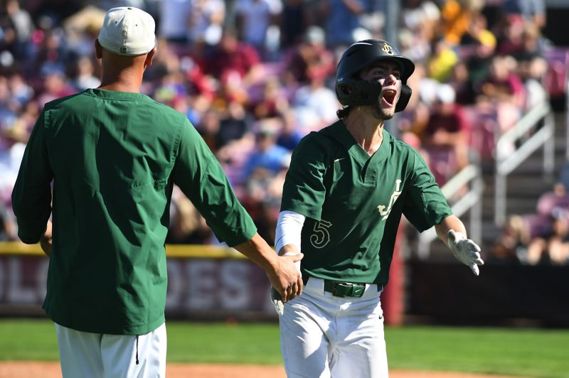 COURTESY PHOTO: BRIAN MURPHY - Jesuit senior Conor O'Reilly stepped up big in the Class 6A playoffs for the Crusaders.