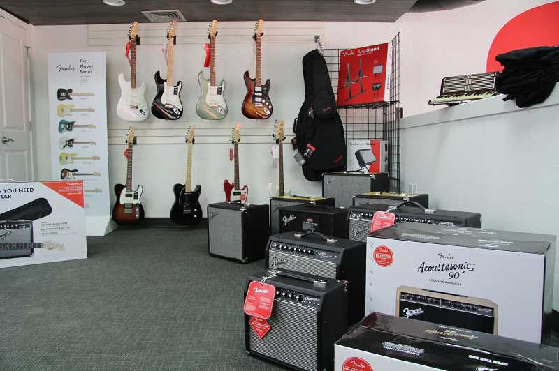 PMG PHOTO: SAM STITES - As a Fender retailer, Kavanaugh offers a wide selection of the best models of guitars, basses and amplifiers.