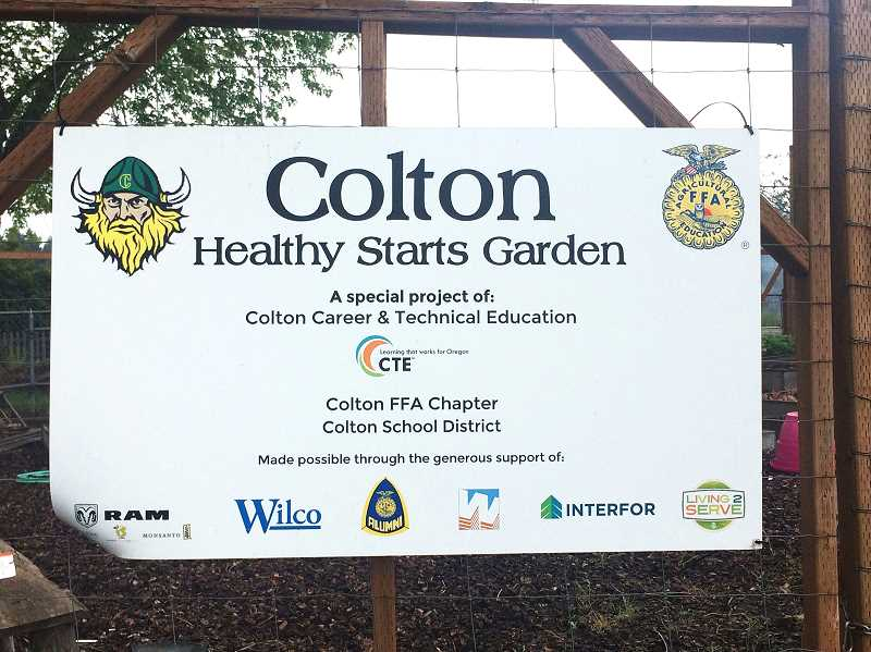 PMG PHOTO: CINDY FAMA - The Healthy Starts Garden entrance.