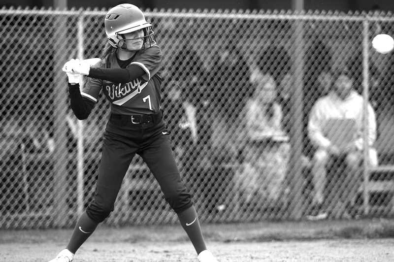 PMG FILE PHOTO: PHIL HAWKINS - Colton's Hailee Hordichok received second team all-league honors for her work in the outfield.