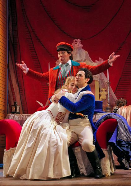 COURTESY: PORTLAND OPERA - 'The Barber of Seville' might be the ultimate opera buffa, or comedy. Portland Opera's Christopher Mattaliano says it's 'genuinely funny.'