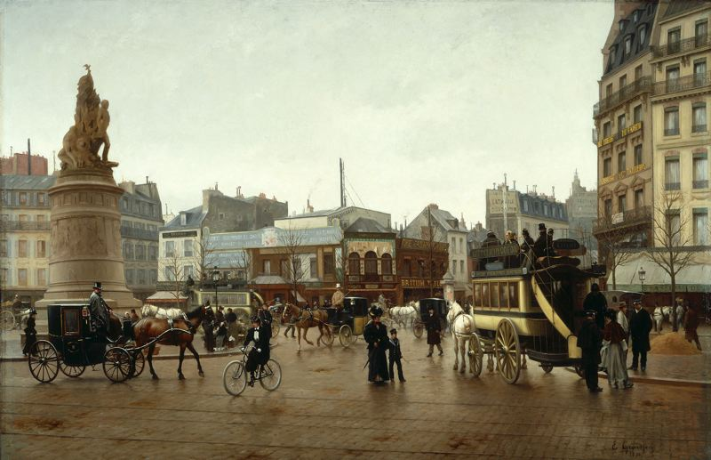 COURTESY: PORTLAND ART MUSEUM - The 'Paris 1900: City of Entertainment' shows at Portland Art Museum, June 8-Sept. 8.