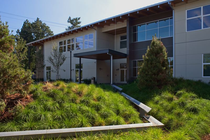 COURTESY: SCOTT | EDWARDS ARCHITECTURE - The project encompasses Spruce Place Apartments, a HUD-subsidized residential facility for people with mental disabilities, with 15 residential units and a community connectivity center.