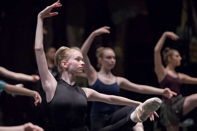 COURTESY PHOTO - Wilsonville Kyra Yannotta performs this weekend with Portland Ballet.