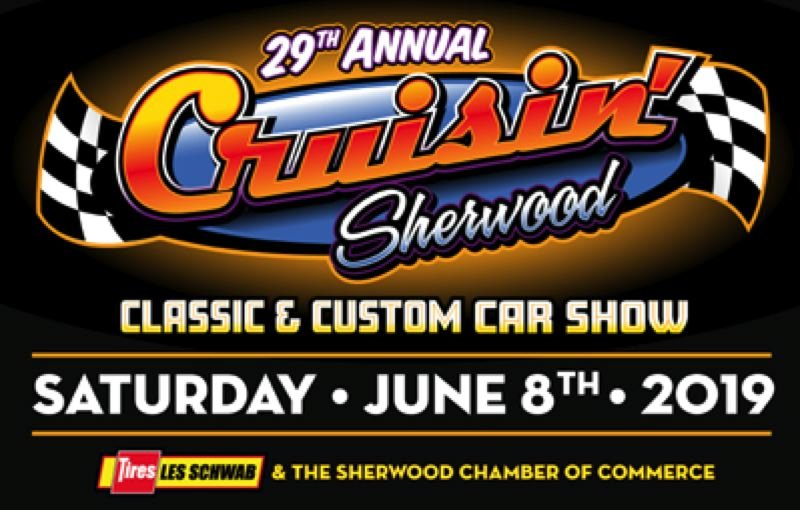 CONTRIBUTED - The 29th Annual Cruisin' Sherwood is Saturday, June 8