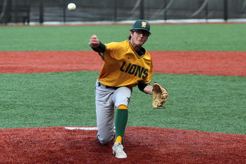 PMG PHOTO: MILES VANCE - West Linn senior Jonathan Kelly was named first-team all-Three Rivers League as both a shortstop and a pitcher, and also earned TRL Pitcher of the Year honors.
