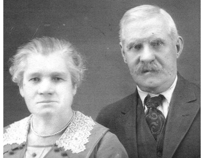 PHOTO COURTESY OF BOWMAN MUSEUM - Martha and George Osborn were pioneers in Jefferson County in the 1870s and 1880s.