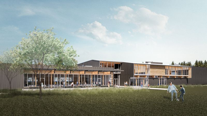 COURTESY: OPSIS ARCHITECTURE - A rendering of the future Hillsboro Community Center.