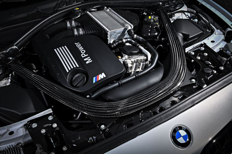 COURTESY BMW GROUP - The 2019 BMW M2 Competition Coupe is equippped with a smooth and powerfiul twin-turbocharged 3.0-liter inline six cyclinder engine.