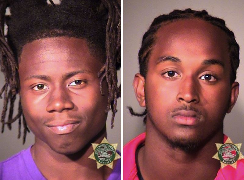 PPB PHOTOS - FROM LEFT: Marquise Brazile and Calvin Jackson