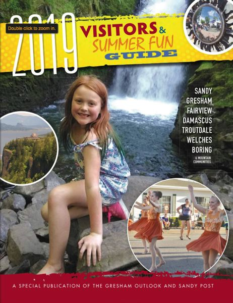 (Image is Clickable Link) 2019 Summer Fun Guide - Clackamas / Oregon City