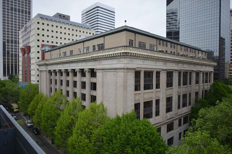 CONTRIBUTED - The Multnomah County Courthouse