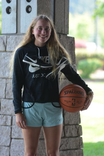 PMG PHOTO: DAVID BALL - Sandy High senior Bella Kansala was a standout in cross country, basketball and track. She plans to run at Lane Community College.
