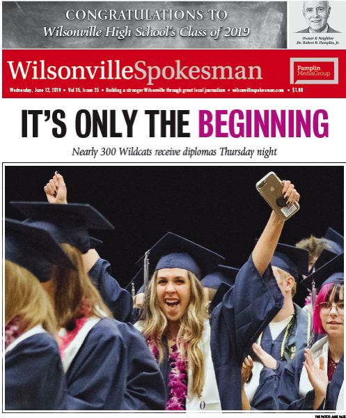 (Image is Clickable Link) Wilsonville Graduates 2019