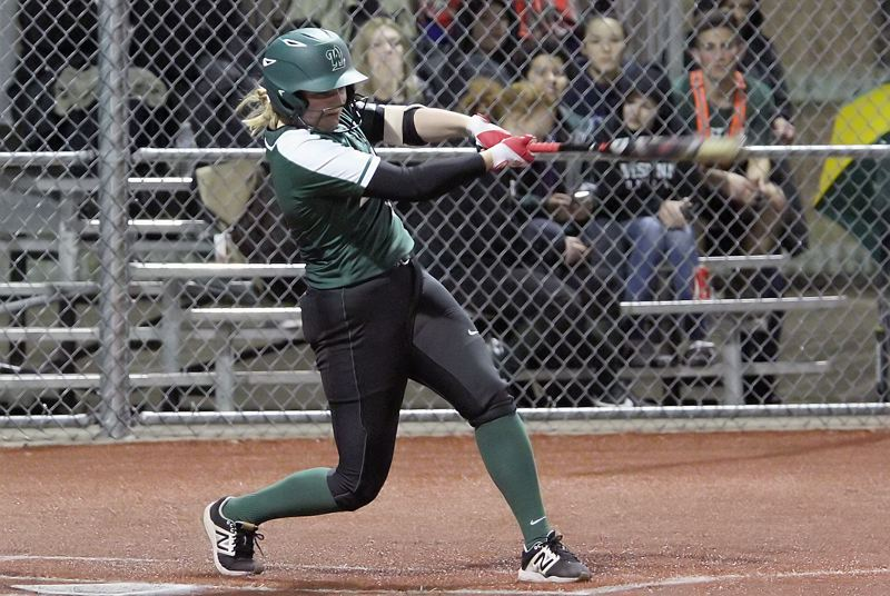 PMG PHOTO: MILES VANCE - West Linn junior Lexi Grein was one of three Lions who won a berth on the all-Three Rivers League first team for 2019.