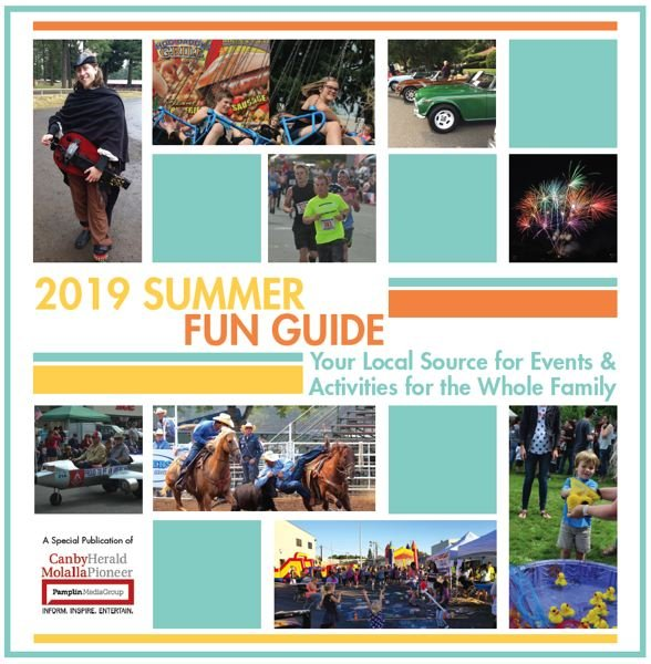(Image is Clickable Link) Summer Fun Guide 2019 Canby Molalla