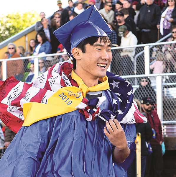LON AUSTIN/CENTRAL OREGONIAN - Foreign exchange student Yuya Yamaguchi.