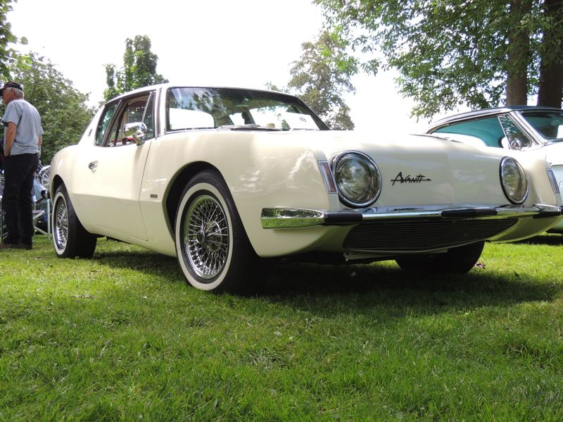 A 1963 Avanti is seen at last years Orphan Car Show hosted by Studebaker Drivers Club-NW.
